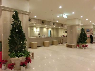 鹿児島サンロイヤルホテル(エントランスなどの様子、部屋からの眺望など)