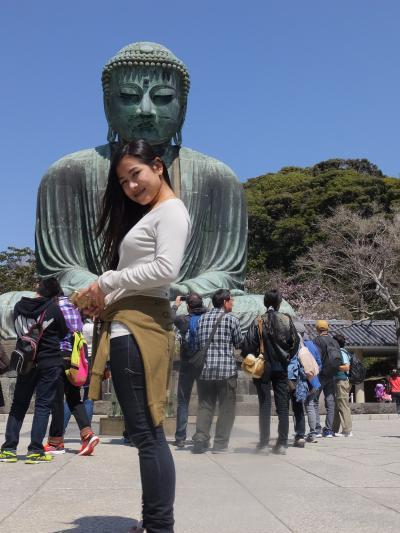 NACKさん、初・日本見聞遊食の旅 10 鎌倉大仏様を拝む。