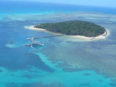 オーストラリア8日間の旅(その2-2) ケアンズ・グリーン島