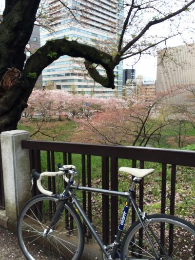 2015年04月 東京駅周辺を自転車でぷらぷら(皇居周辺~品川~日比谷)