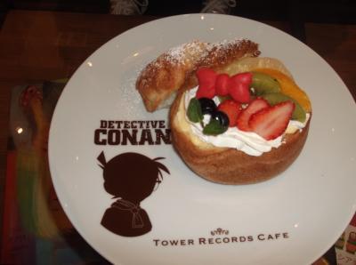 渋谷 5/10まで期間限定 コナンカフェに行ってきました