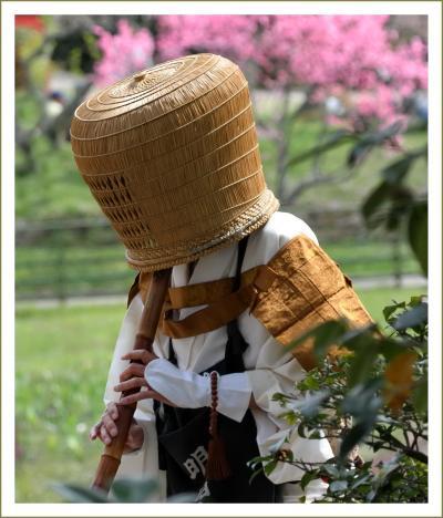 Solitary Journey[1563]桜満開の中で虚無僧行列が賑やかに行われました。<棲真寺まつり、お花見もできました!>広島県三原市