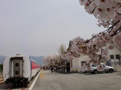2015 春 ムグンファ号で釜田駅から鎮海駅へ