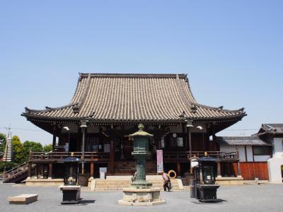 西国霊場第二十二番札所の総持寺の秘仏本尊御開扉