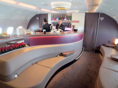 ワンワールド世界一周  「A380乗り較べ・A350初乗り・タダ飯」  5日間を機内とラウンジで過ごす7日間の弾丸旅行 JL/MH/QR/QF/BA/AA/CX
