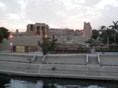 2015 エジプトツアー報告 3.コム・オンボ、エドフ 心地よいナイルの風