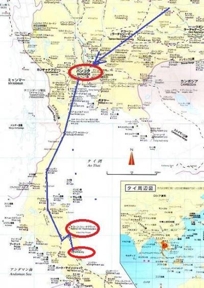 2015春・タイ・ベトナム等いなか街をさ迷う旅日記(NO3)ナコーン・シー・タマラート→パッタルン