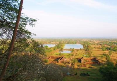ラオス紀行(5) 静寂なるアンコール王朝の遺跡 チャムパーサックのワット・プー