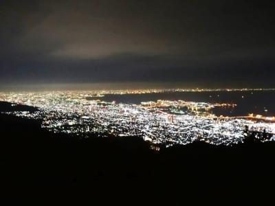 六甲山_Mt Rokko 1000万ドルの夜景!標高880mから見下ろす光の海