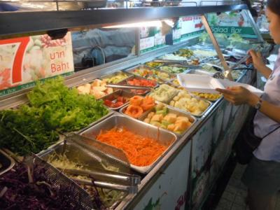 チェンマイ日記 2月11日 ③ タニン市場にて夕食の買い物