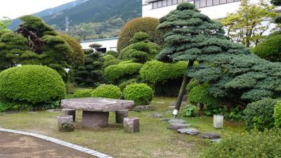 淡路島・東四国庭園めぐり(27) 四国中央市 暁雨館の庭園