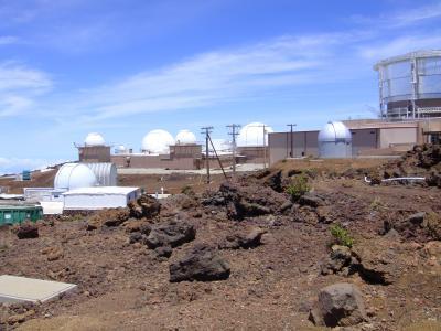 ハレアカラ山頂の天文観測街を訪ねて