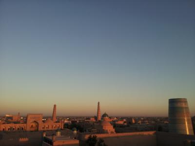 東西のおへそ ウズベキスタン