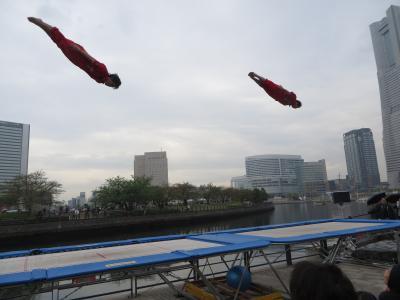 「ヨコハマ大道芸2015」と「第2回宇都宮餃子祭り in YOKOHAMA」(2)