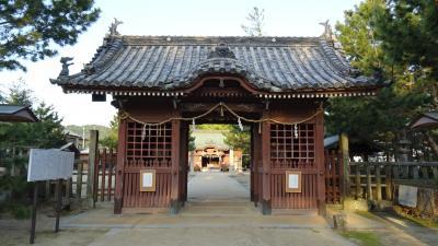 淡路島・東四国庭園めぐり(59) 朝食前に津田の松原を散歩しました 上巻