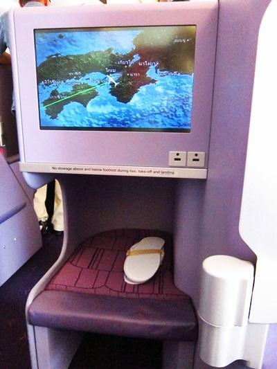 """タイ航空ビジネスで バンコク⇔大阪 ★復路は""""エアバスA380""""初体験★"""