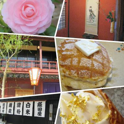 新幹線じゃなくて夜行バスで行く初金沢女子旅0泊2日~ひがし茶屋街でお茶屋さん見学、fluffyでパンケーキ~(その3)