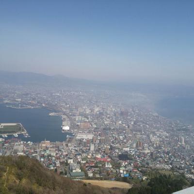 函館山ハイキングと桜の五稜郭そして北斗市・法亀寺の枝垂桜♪