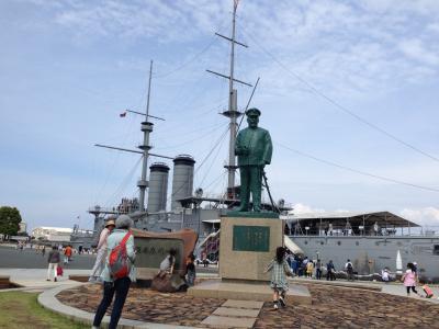 神懸かり的に最強といえるパワースポット・記念艦三笠を見に行く