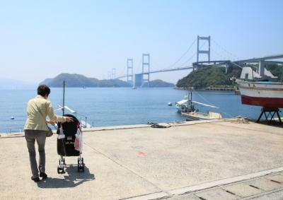 旅する赤ちゃん~初物づくしの伊予国旅その3~