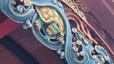 回数券買ったので行ってきた。神川の見所・その1 金鑚神社と 金鑚大師