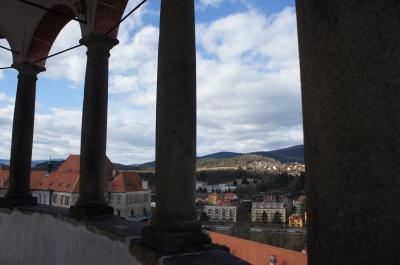 人生初のヨーロッパ⑥チェスキー・クルムロフ城を観光、プラハに戻ってビアレストランで夕食後、街をぷらぷら