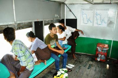 ヤンゴン近郊環状線(2)基本の続き