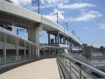 再開発が進む京急蒲田駅周辺「東口deck完成」(2015.05.04)