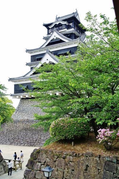 火の国 『熊本城』は、天下の名城でした!