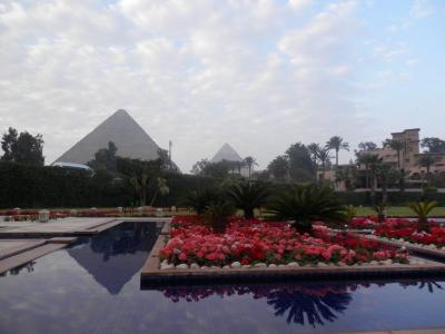 2015 エジプトツアー報告 6.サッカラ メナハウスの朝食