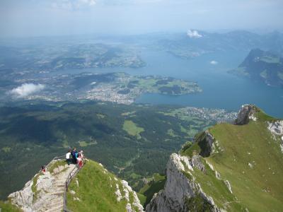 夏のスイス。街歩きとちょっと山登り!(3日目:ルツェルン・ピラトゥス山)