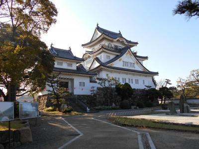 和泉岸和田 阿波・紀伊と大坂・京都を繋ぐ軍事的経済的重要拠点とした岸和田城訪問