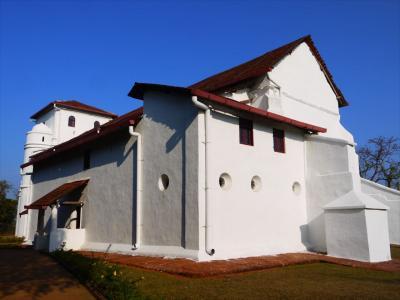 南西インド紀行2☆トリチュールからオールドゴアへと教会巡り