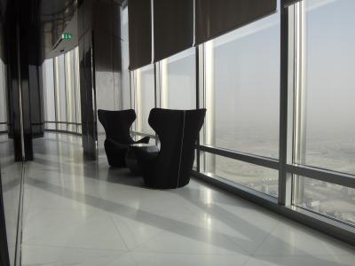 GWドバイ4日間 ブルジュ・ハリファ(バージュ・カリファ)At the Top SKY 148階展望台