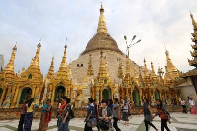 ミャンマーの最後の訪問地はヤンゴン その1