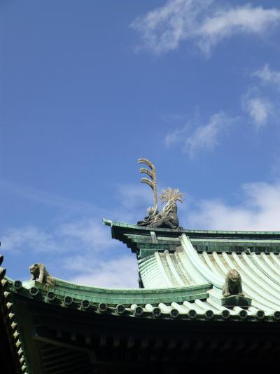 神田明神と、幻獣の棲む湯島聖堂 in GW
