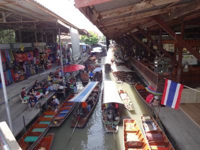 2015年 タイ(水上マーケット)