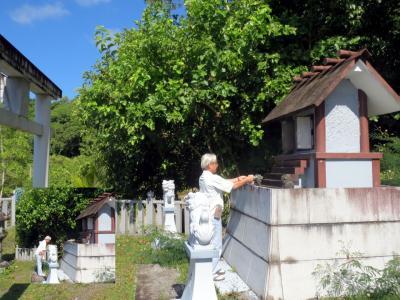 両陛下が祈念に行かれたパラオ ペリリュー島へ (戦場 慰霊献茶編)