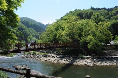 新緑の香嵐渓に行ってきました!