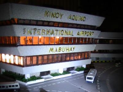 新装マニラ空港NAIA1とターミナルフィー