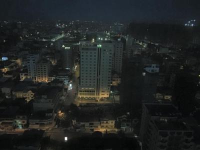 プノンペンの夜の風景