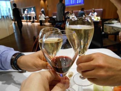 2015GW②QRカタール航空・ビジネスクラスA330搭乗記(ドーハDOH⇒カイロCAI)+ドーハ空港DOHカタール航空のラウンジで2度目のOFF会!