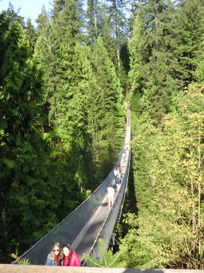 カナダ 2015GW  ⑦キャピラノ吊り橋 帰国