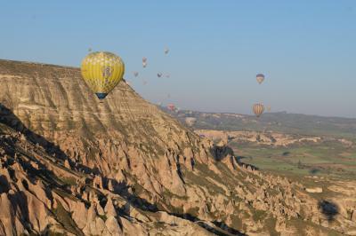 トルコ遺跡周遊 7日目 カッパドキア気球ツアーとアンカラ観光