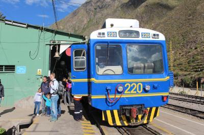 2015南米旅行1-2 クスコからマチュピチュへの道