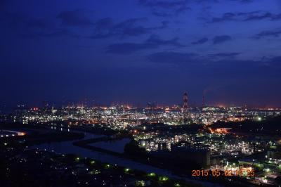 【1日目-3】岡山(+香川)~鳥取FLY&DRIVE 水島コンビナート工場夜景萌え(^^ゞ