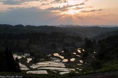 日本の原風景が残る棚田へ