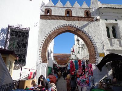 イベリア半島と海峡縦断の旅:スペイン・ポルトガル・ジブラルタル・モロッコ旅行(2014〜2015年末年始:5日目2 ティトアンの迷宮1)13/29