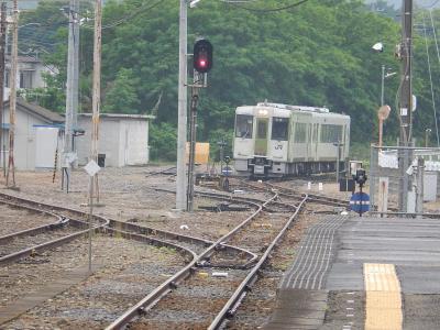 八高線寄居駅付近の風景