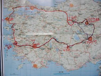 トルコ半周バスの旅(1)